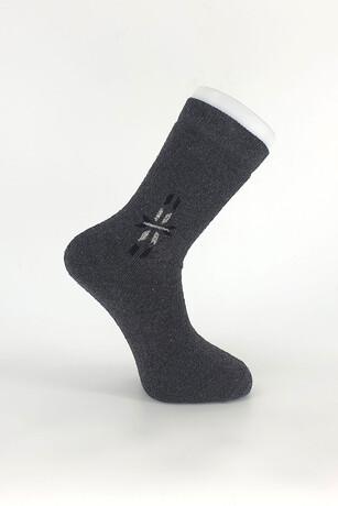 Alkan - Erkek Yetişkin Kışlık Havlu Çorap 12'li