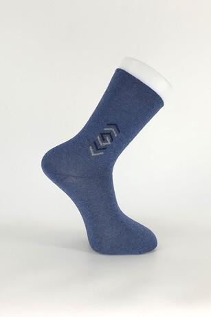 Alkan - Erkek Yetişkin Mevsimlik Desenli Çorap 12'li