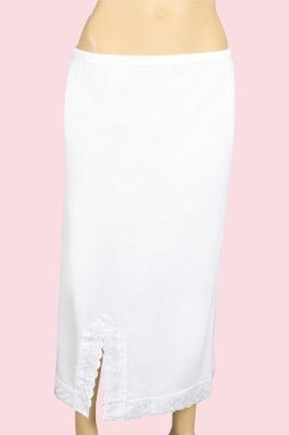 - Kadın Beyaz Penye Jipon A260 (6 Adet)