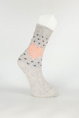Alkan - Kadın Yetişkin Mevsimlik Desenli Çorap 12'li